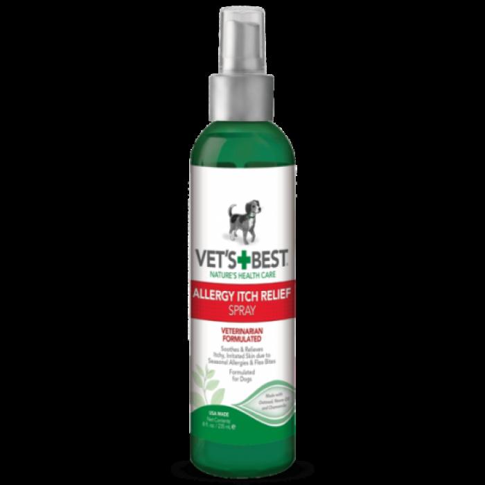 Vet's Best Allergy Itch (Purškiklis alergijos sukelto niežėjimo palengvimui) 235 ml