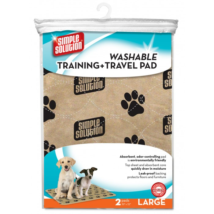 Plaunami šunų kelioniniai - dresavimo paklotai Simple Solution Washable Travel &Training Pads 2 vnt.
