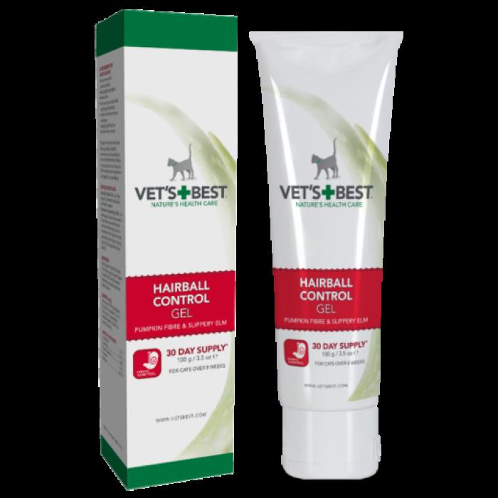 Vet's Best Hairball Control gel for Cats 100 g ( plaukų kamuoliukų kontrolei)