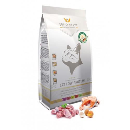Maistas katėms su inkstų problemomis Vet - Concept Cat Low Protein 1,5kg