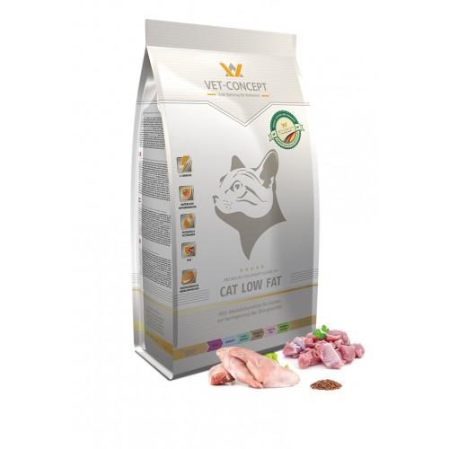 Maistas katėms su viršsvoriu Vet - Concept Cat Low Fat 3kg
