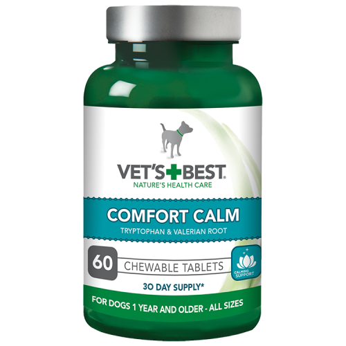 Vet's Best Comfort Calm gel for Dogs 60 (raminančios tabletės)