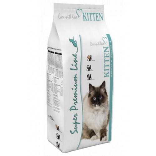 Sausas maistas kačiukams Supra Kitten 1,5 kg