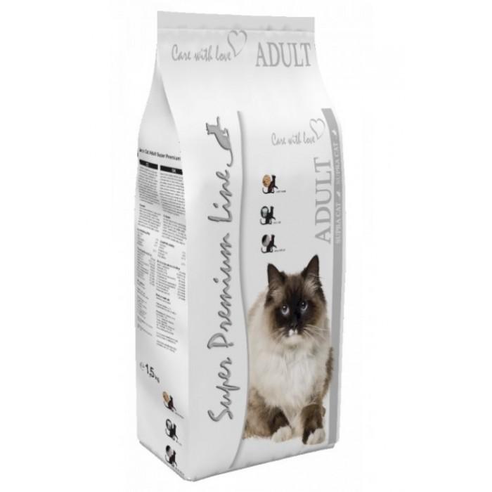Sausas maistas katėms Supra Cat Adult 1,5 kg