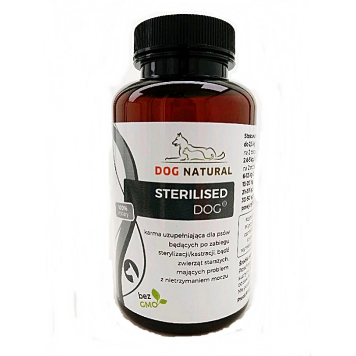 Maisto papildas po kastracijos ir sterilizacijos Dog Natural Sterilised Dog 72