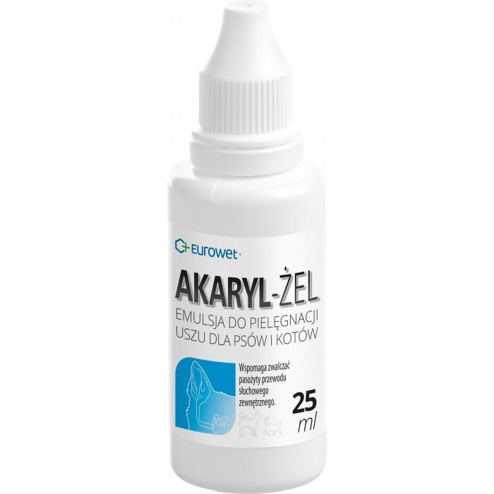 Ausų priežiūros emulsija Eurowet Akaryl gel 25 ml