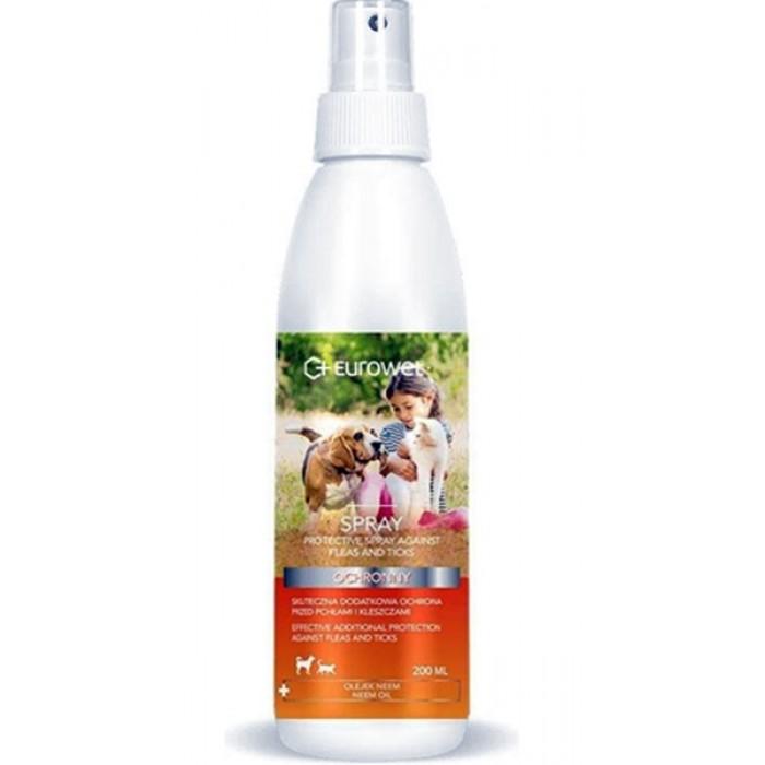 Purškalas šunims ir katėms nuo erkių ir blusų Amiwet Spray 200 ml