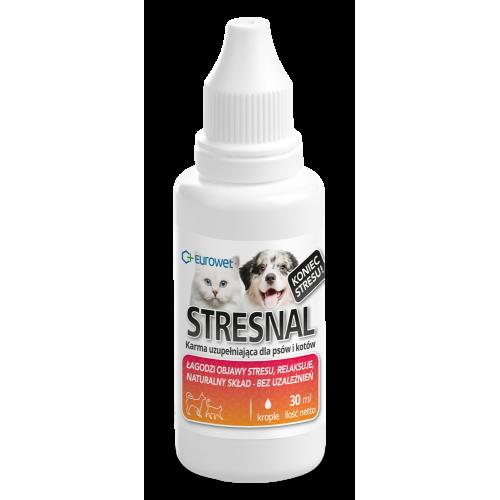 Papildas stresui raminti šunims ir katėms Stresnal 30ml