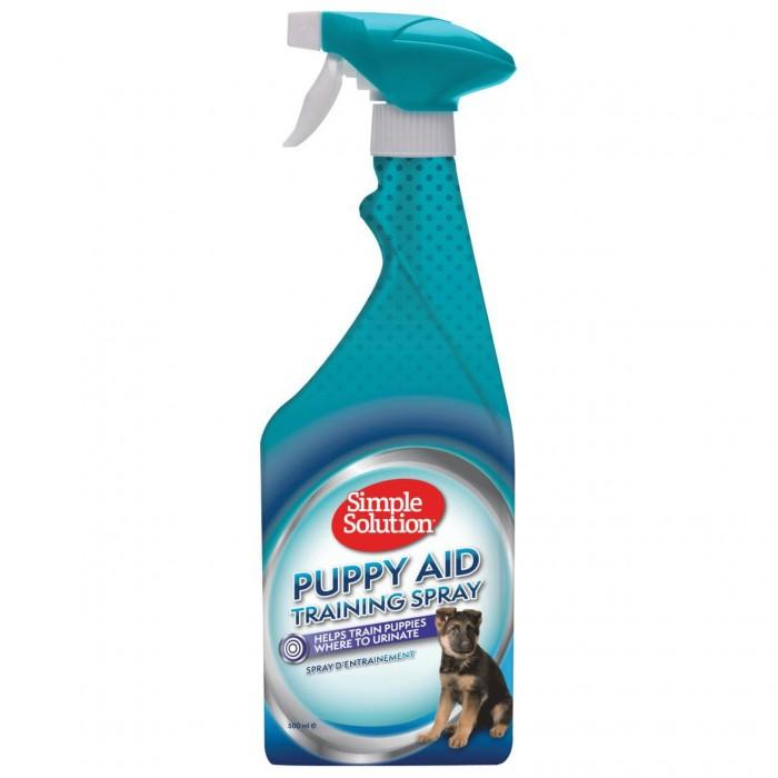 Purškiklis šuniukų priviliojimui Simple Solution Puppy Aid Training 500 ml