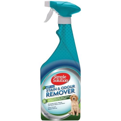 Valiklis paviršiams kvapų ir dėmių šalinimui Simple Solution Stain & Odour Remover Rainforest Fresh 750 ml