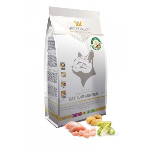 Maistas katėms su šlapimo akmenimis Vet - Concept Cat Low Mineral 1,5kg