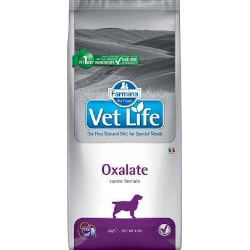 Maistas šunims nuo akmenų susidarymo Vet Life Dog Oxalate (Ossalati- Urinary) 12kg
