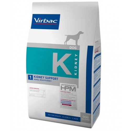 Maistas šunims Virbac Dog Kidney Support 3 kg