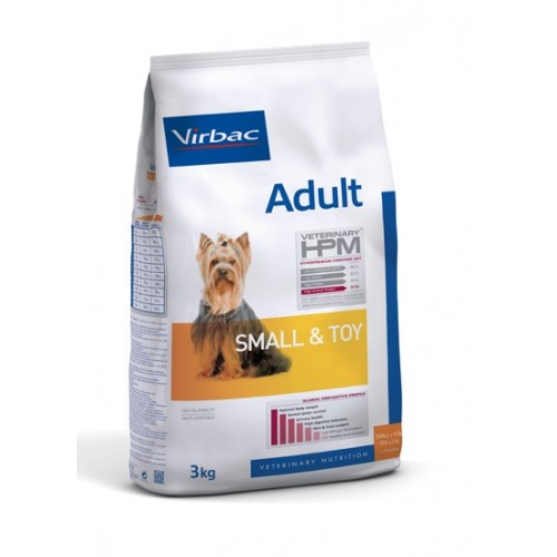 Maistas mažų veislių šunims Virbac Dog Adult Small & Toy 7 kg
