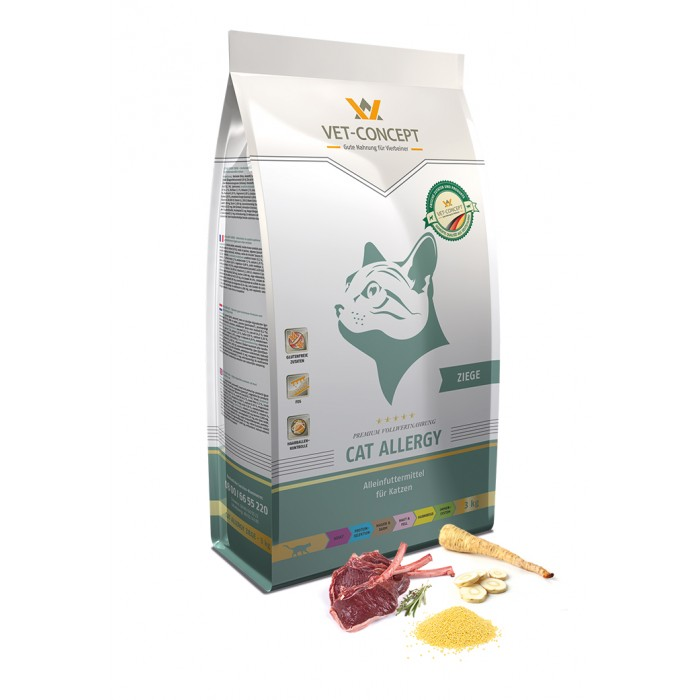 Vet - Concept Cat  Allergy-Ziege 3 kg