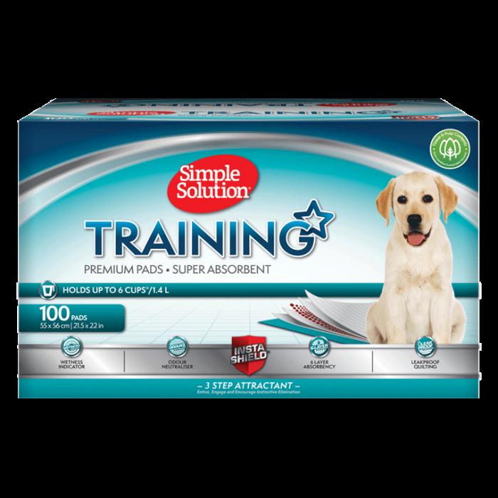 Šuniukų dresavimo paklotai Simple Solution Training Pads 100 vnt.