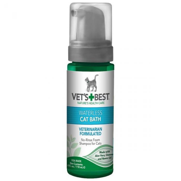 Vet's Best  Waterless Cat Bath No-Rinse Foam Shampoo 150 ml